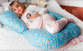 Польза от специальных подушек для беременных
