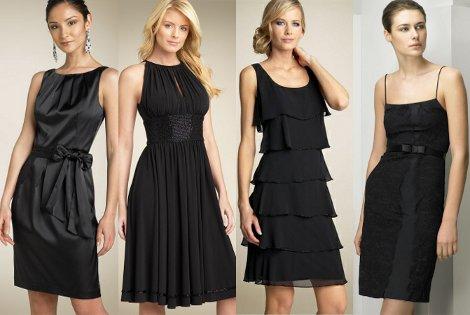 Маленькое черное платье – найди свой фасон