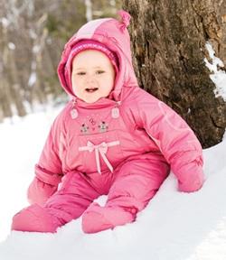 Приданое для новорожденного зимой