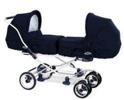 Выбираем коляску для двойняшек