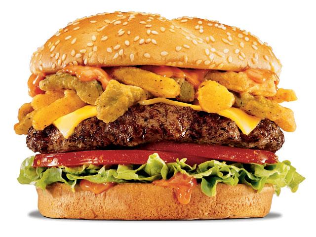 Гамбургеры снижают количество выделяемой спермы