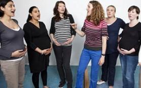 Пение во время беременности облегчает боль при родах