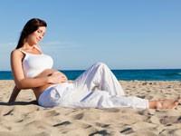 Беременным необходим солнечный свет для правильного развития глаз плода
