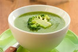 Крем-суп из брокколи для диабетиков