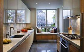 Идеи для интерьера маленькой кухни