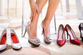 В период беременности лучше отказаться от обуви на каблуке