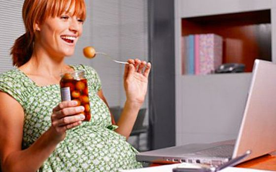 Опасные продукты при беременности