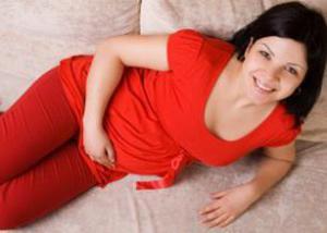 Вздутие желудка у беременных