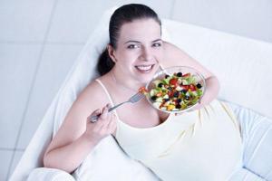 Рацион при беременности и грудном кормлении