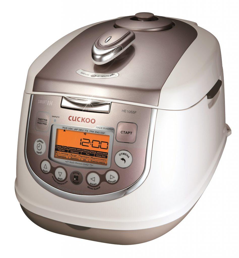 Мультиварка Cuckoo CMC-HE1055F: расширенные возможности для правильного приготовления пищи