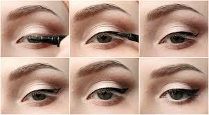 Как правильно наносить стрелки «Кошачий глаз»?