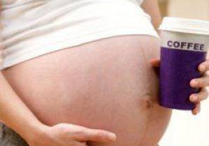 Кофе во время беременности не влияет на поведение ребенка