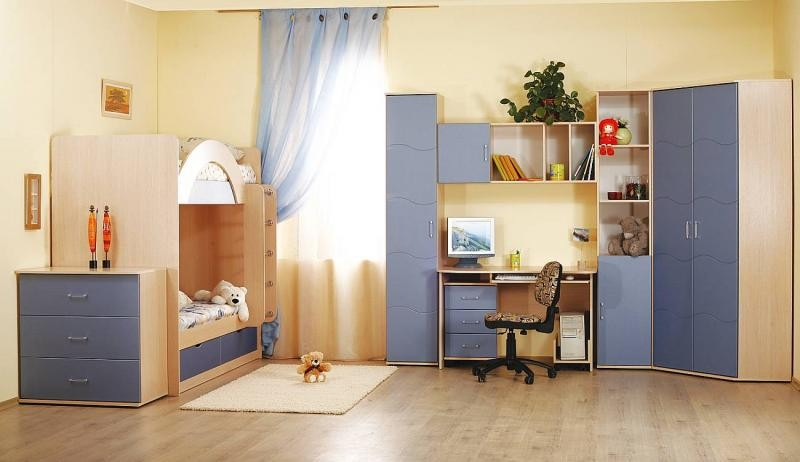 Какая мебель должна быть в детской комнате?