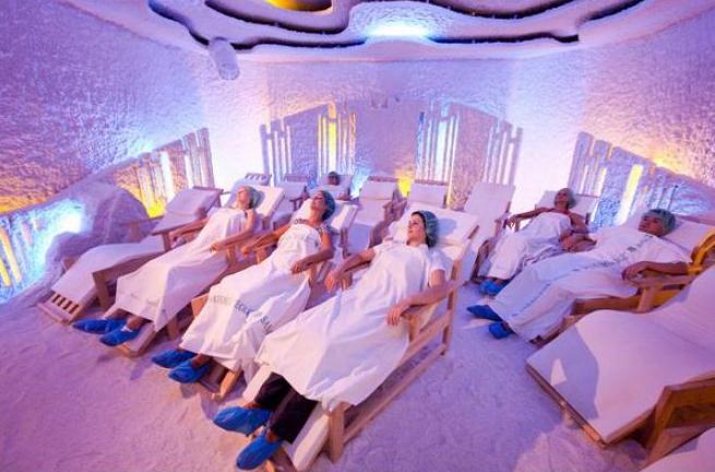 Соляная комната — польза и вред для организма