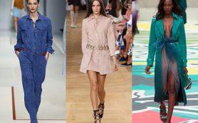 Платье из замши — модный тренд