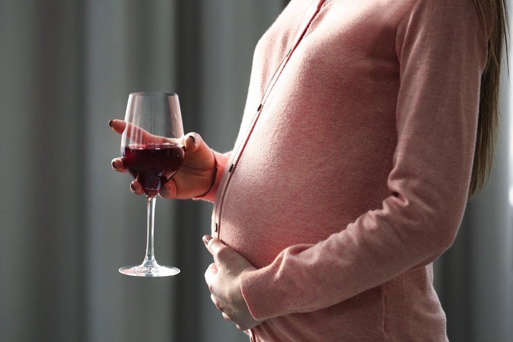 Красное вино и беременность