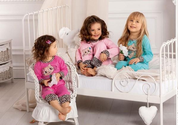 Здоровый сон с детскими пижамами на сайте olioli.com.ua