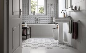 Напольные материалы для ванной комнаты: основные варианты