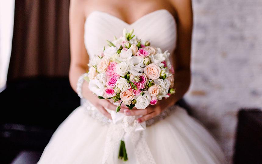 Какой букет выбрать на свадьбу