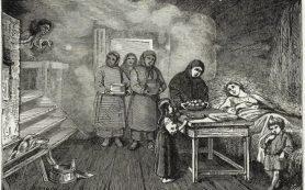 Кошмарные факты о родах в старину