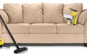 Профессиональная химчистка диванов: этапы