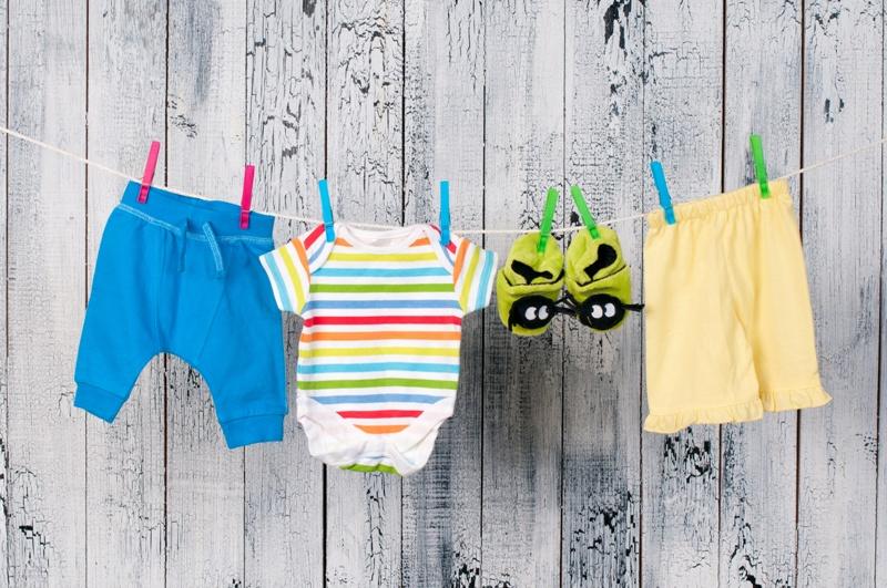 Уход за одеждой ребенка