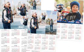 Настенные календари с фотографиями