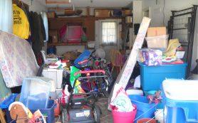 Услуги уборки в гараже