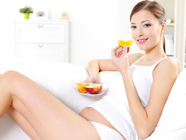 Здоровое питание снижает риск преждевременных родов