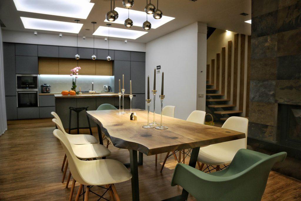 Современная мебель из слэба дерева – основные достоинства