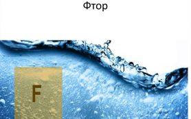 Фторид в питьевой воде
