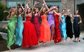 Стили выпускного платья