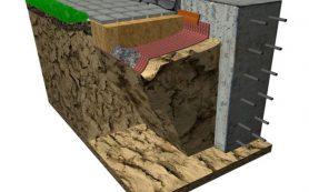 Защита фундамента при сложных грунтах