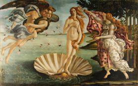 Обзор картины Рождение Венеры