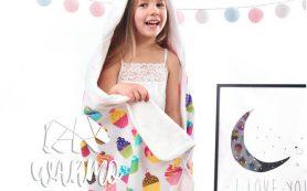 Детские полотенца с капюшоном: ТОП-5 главных преимуществ, покупка, особенности ухода