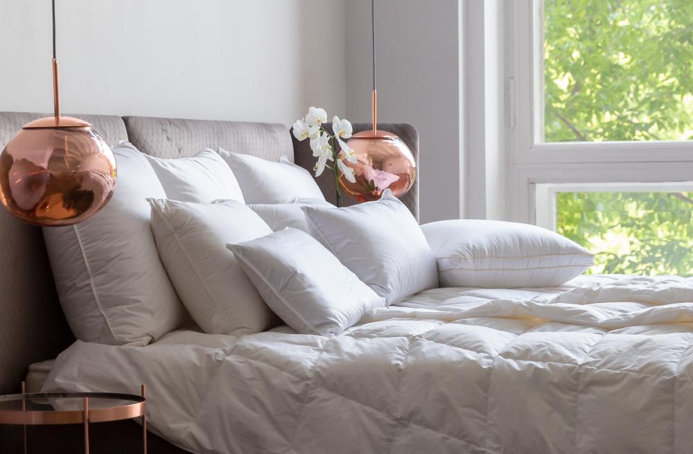 Пуховая подушка и хорошие сны