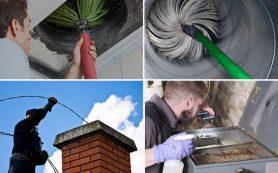 Чистый дымоход — защита от пожара