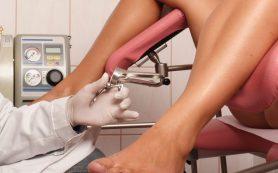 Осмотр беременной у гинеколога