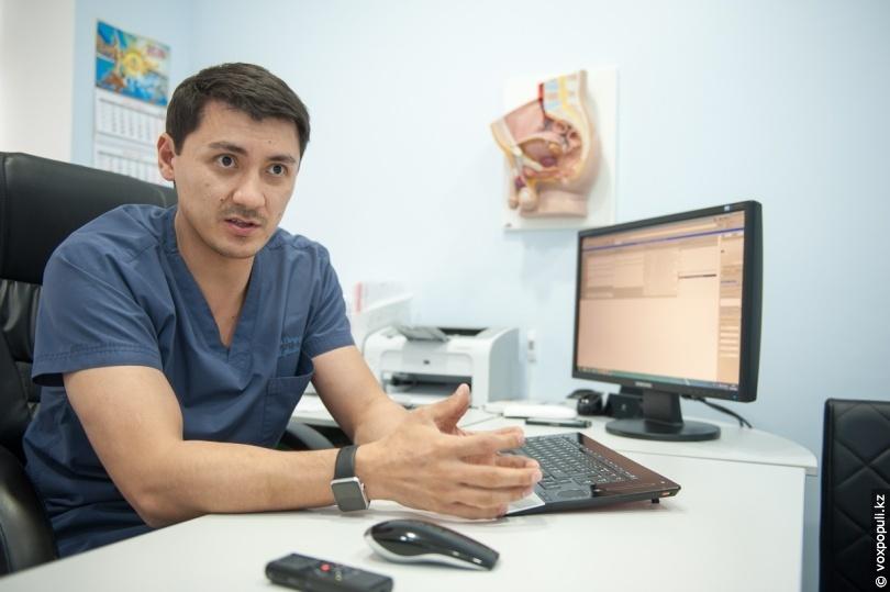 Лечение у андролога Нугманова Чингиза