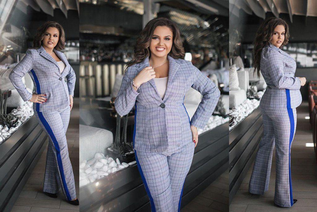 Женские костюмы больших размеров в интернет-магазине Mydress24