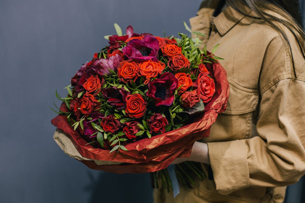Доставка цветов во Львове