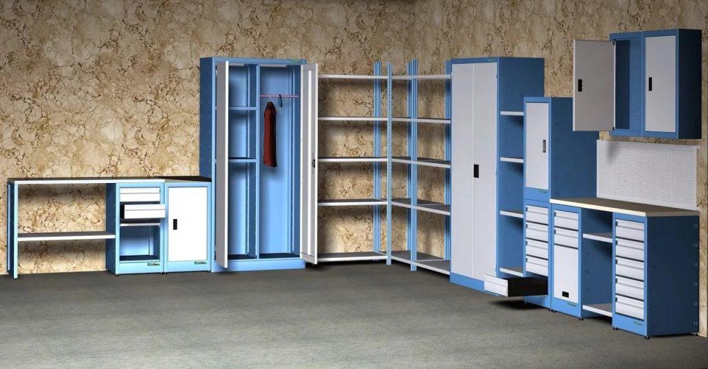 Достоинства металлической мебели