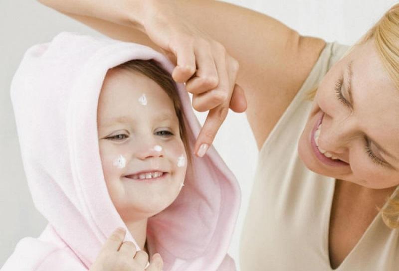 Уход за детской кожей