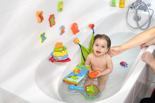 Виды игрушек для купания в ванной