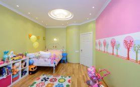 Разница в освещении комнаты мальчика и девочки