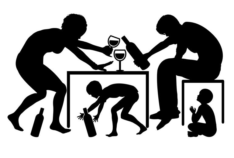 Алкоголизм и наркомания в жизни детей
