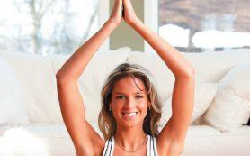 Йога для молодой мамы