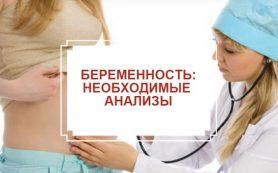 Какие анализы необходимы при беременности?