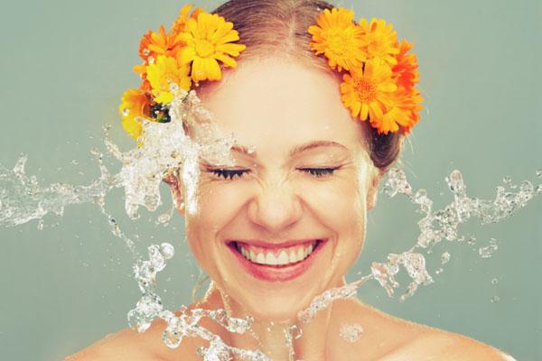 Умывание натуральными продуктами