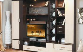 Виды мебельных стенок и их выбор